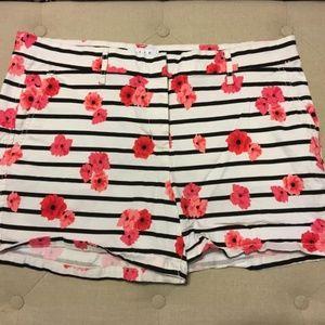 Floral Print Chino Short